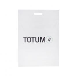 Printed Mailing Bags With Die Cut Handle For Clothes Ref Totum Fitness