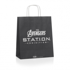Twisted Handle Paper Bag For Event Promotions Ref Avengers
