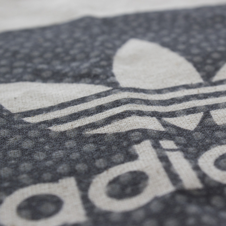 Custom Printed Cotton Carrier Bags Ref Adidas