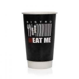Bespoke Printed Cups Ref Meat Me Wrap Me