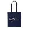 Printed Navy Cotton Bags Ref Firefly