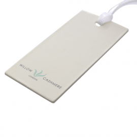 Printed Clothing Tags Ref Willow Cashmere