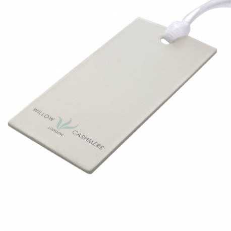 Luxury Printed Clothing Tags Ref Willow Cashmere