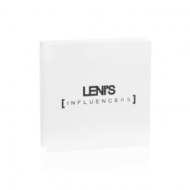 Personalised Ribbon Seal Paper Gift Box Ref Leni's Influencers