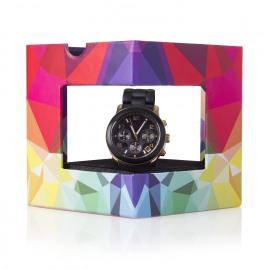 Custom Printed Two Piece Watch Box Ref Pledge Watches