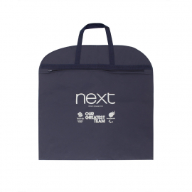 Branded PEVA Suit Carrier Bag Ref Next