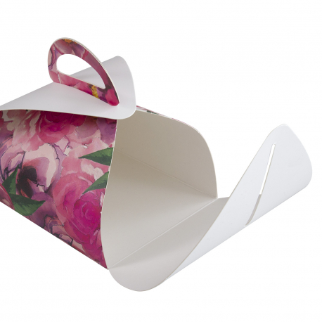 Personalised Fold Over Cake Box Ref Stockley