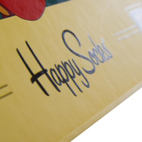 Bespoke Limited-Edition Sock Box Ref Happy Socks