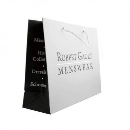 Luxury Card Paper Carrier Bags - Ref. Robert Gault