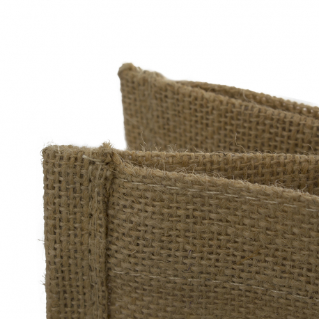 Printed Eco Friendly Jute Carrier Bag Ref Heal Our World
