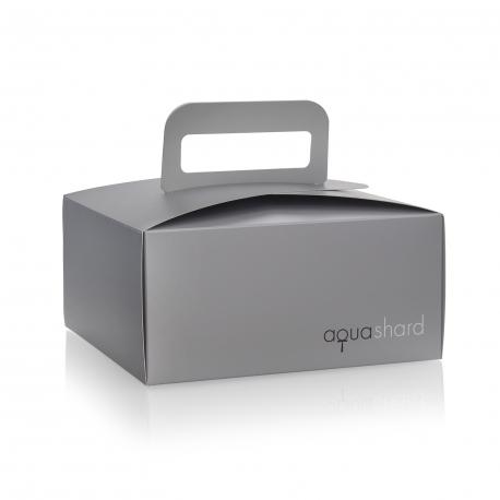 Printed Paperboard Takeaway Boxes Ref Aqua