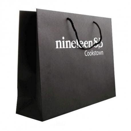 Brown Kraft Paper Carrier Bags - Ref. Nineteen83