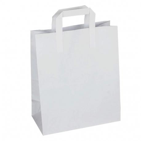 White Paper Sandwich Bags Paper Take Away Bags