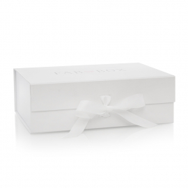 Ribbon Sealed Rigid Card Box for Clothing Items Ref Fab Box