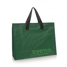 Bespoke Zip Close Woven Carrier Bags Ref Svenn