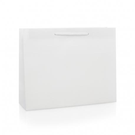 Luxury White Matt Paper Bags Matt Paper Bags With Rope
