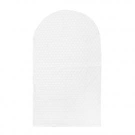 Custom Polka Dot Non Woven PEVA Suit Carrier Bags