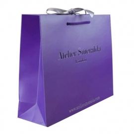 Luxury Card Paper Carrier Bags - Ref. Atelier Smerelda