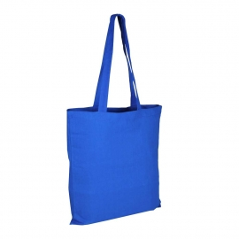 Blue Reusable Cotton Bags For Life - Coloured Wholesale Cotton Bags