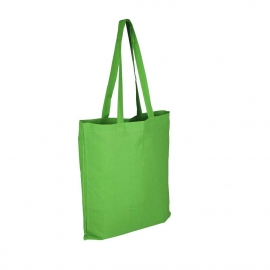 Green Reusable Cotton Bags For Life - Coloured Wholesale Cotton Bags
