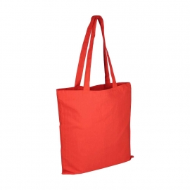 Red Reusable Cotton Bags For Life - Coloured Wholesale Cotton Bags