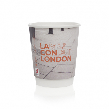 Printed Coffee Cup Ref Lamb's Conduit London