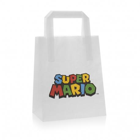 Personalised Paper Bag Ref Super Mario
