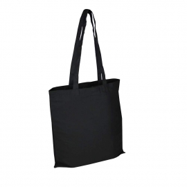 Black Reusable Cotton Bags For Life - Coloured Wholesale Cotton Bags