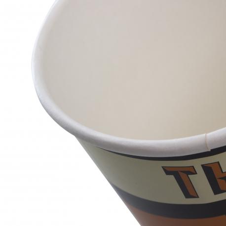 Custom printed cups Ref. Thunder Road Café