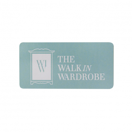 Custom Printed Stickers Ref The Walk in Wardrobe