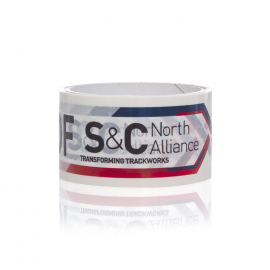 Bespoke Printed Tape Ref S&C North Alliance