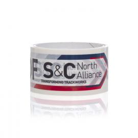 Bespoke Printed Tape Ref S&C North Alliance