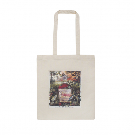 Personalised Natural Cotton Carrier Bag Ref Don Papa