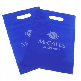 Small Printed LDPE Die Cut Bags – Ref. McCalls