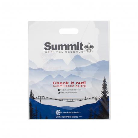 Die Cut Plastic Carrier Bag Ref Summit Bechtel Reserve