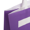 Full Colour Printed White Kraft Takeout Bags With Flat Handless – Ref. Daltons