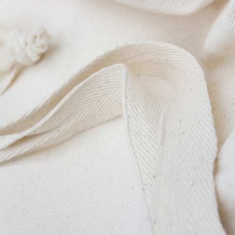 Custom Cotton Drawstring Clothing Bag Ref Next
