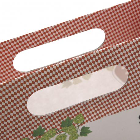 Printed Die Cut Paper Bags Ref Oktoberfest