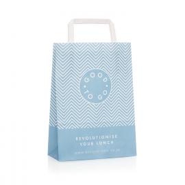 Custom Printed Paper Takeaway Bags Ref Be Good To Go