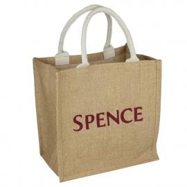 Printed Jute Bags - Square Jute Bags - Ref. Spence