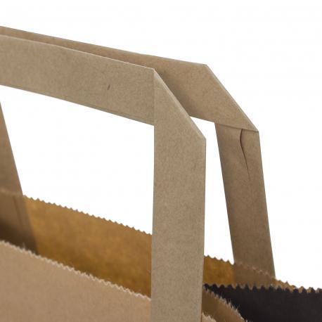Custom Printed Bags for Takeaways Ref B Street Deli