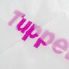 Printed Clear Plastic Carrier Bag Ref Tupperware