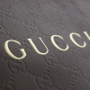 Printed Recycled Embossed Hot Foil Paper Bag ref. Gucci