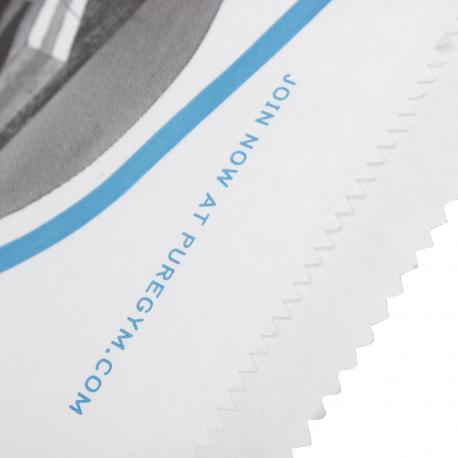 Printed Paper Handleless Bag Ref PureGym