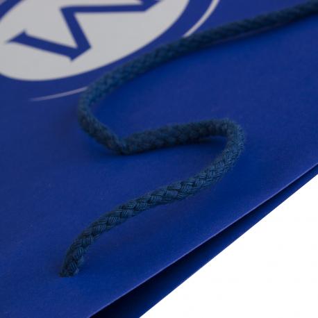White Kraft Paper Carrier Bags - Ref. McCalls