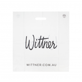 Custom Die Cut Carrier Bag for Shoes Ref Wittner
