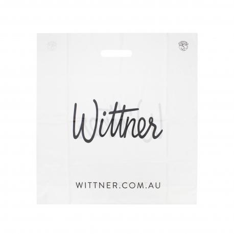 Custom Die Cut Carrier Bag for Shoes Ref Wittner