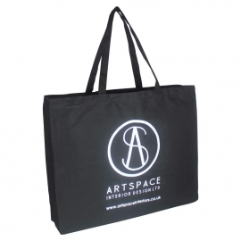 Printed Cotton Bags - Large Eco Bags - Ref. Arts Space