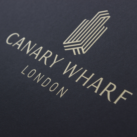 Custom Printed Recycled Carrier Bag Ref Canary Wharf