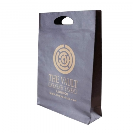 Printed Die Cut Paper Bags - Kraft Paper - Ref. The Vault